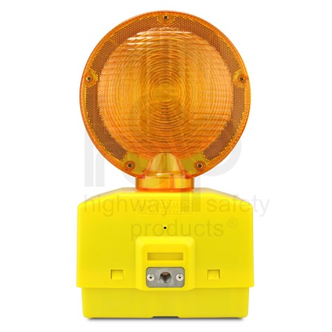 Eecolite II Battery Powered Barricade Light, Amber