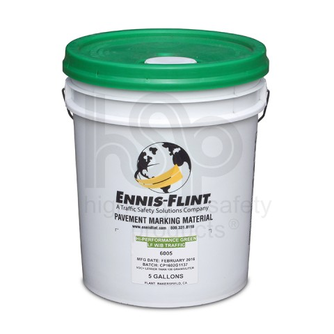 Green Water Based Striping Paint