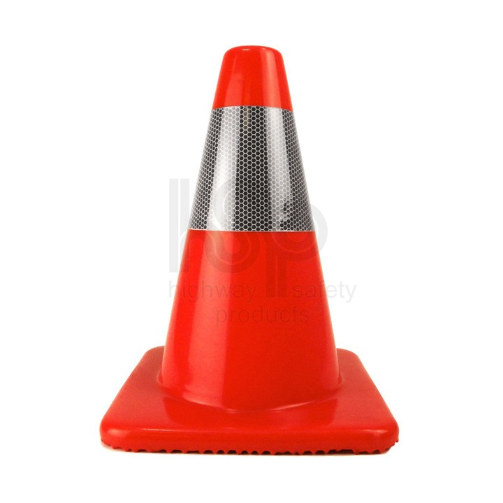 "12"" Traffic Cone, Reflective Collar, Orange, 1.5 lb - 12 ..."