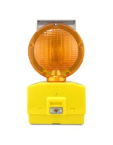 Eecolite II Solar Powered Barricade Light, Amber