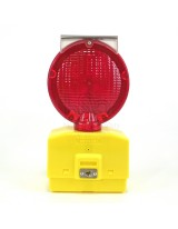 Eecolite II Solar Powered Barricade Light, Red